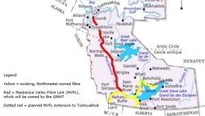 Mackenzie Valley fibre optic line