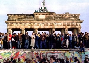 Brandenburg Gate (then)