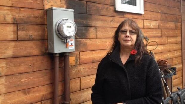 SaskPower has already installed a new meter for Joan Reimer's home.