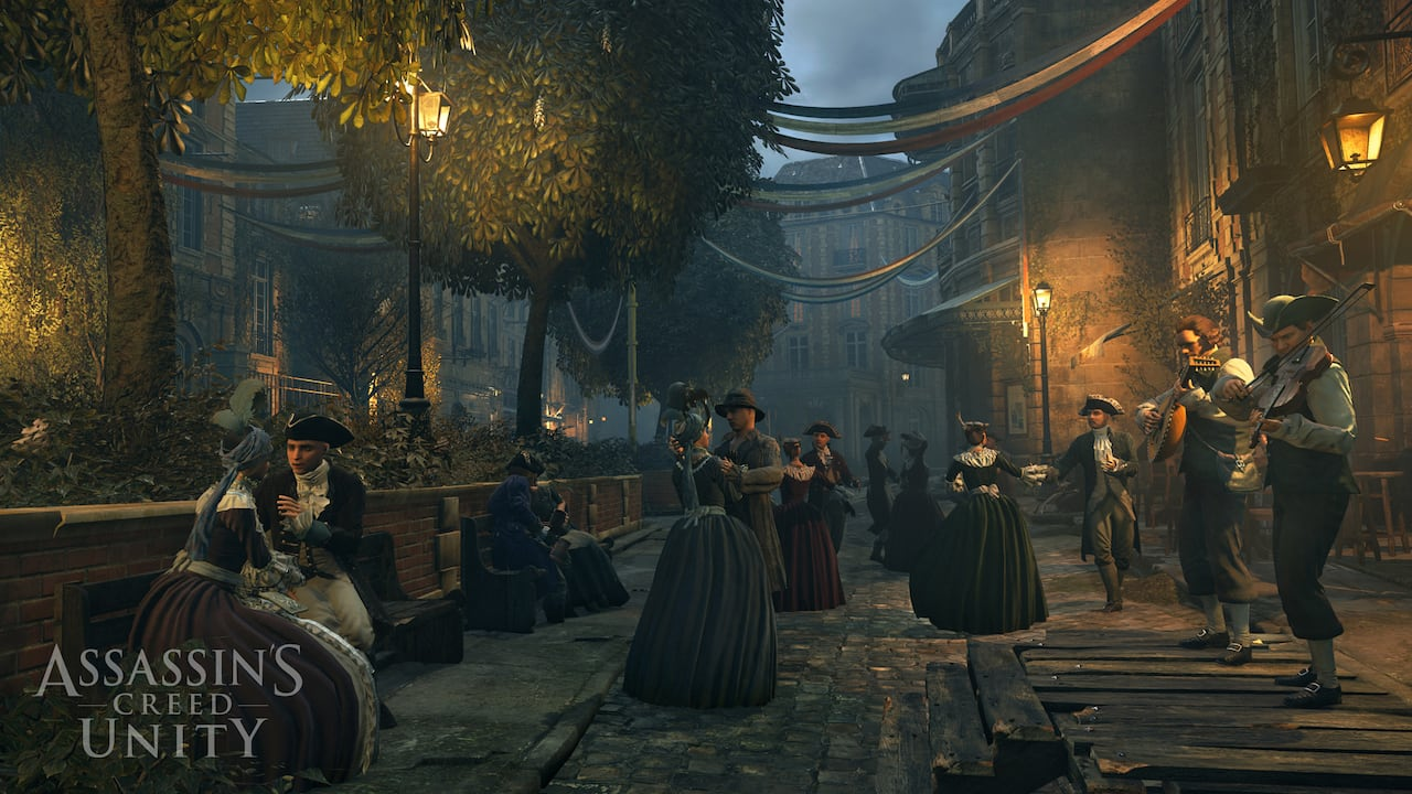 Assassin S Creed Unity Video Game An Intriguing View Of French