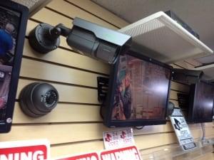 Security Camera warning sign