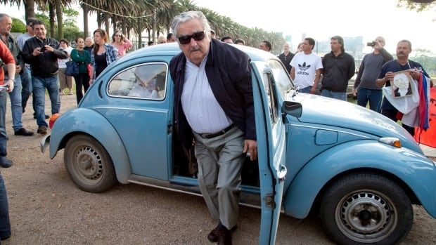 Uruguay's President Jose Mujica, a former leftist Tupamaro guerrilla leader, said that if he got $1 million for his VW Beetle, he would donate the money to a program that gives housing to the homeless.