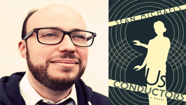 Sean Michaels was in Moncton this week at the Frye Festival. His book, Us Conductors, won the Giller Prize.