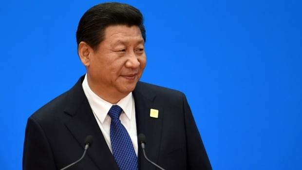 China's President Xi Jinping speaks during a press conference to close the Asia-Pacific Economic Cooperation Summit in Yanqi Lake, north of Beijing on Tuesday.