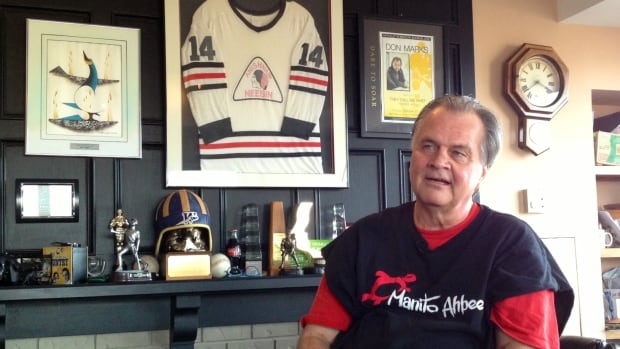 Don Marks, who has written two books about aboriginal athletes and the challenges they face, died Saturday.