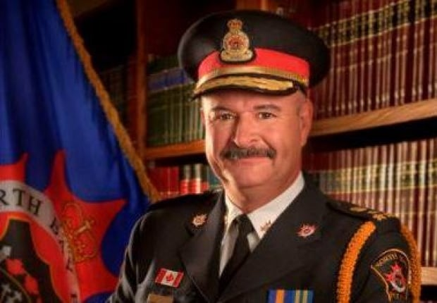 North Bay Police Chief Paul Cook