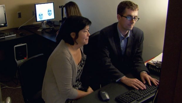 Racism can be deeply embedded in our brains, whether we're aware of it or not, the CBC's Duncan McCue found. At the Social Cognition Lab at York University in Toronto, Prof. Kerry Kawakami (left), an expert in the psychology of prejudice, and post-doctoral researcher Justin Friesen showed him a test in which a subject is shown black and white faces. They say tracking eye movement can be an indicator of bias.