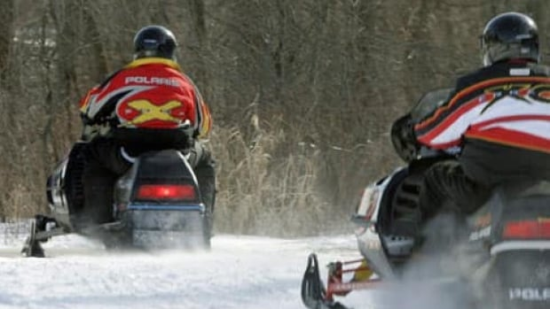 A snowmobiler was injured in a remote area of northern Saskatchewan on Monday and had to be rescued.