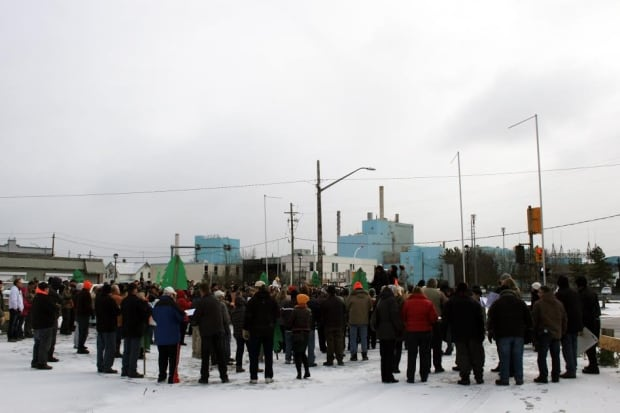 Rally at Fort Frances