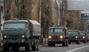 Ukraine crisis Russian convoy