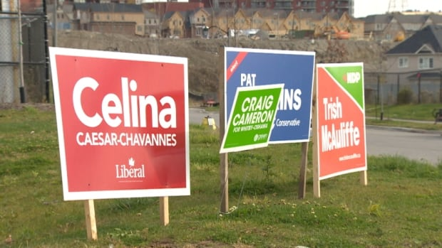 The tightening race in Jim Flaherty's former Toronto-area riding may explain why Liberal Leader Justin Trudeau will make appearance at the election night rally for his party's candidate, Celina Caesar-Chavannes.