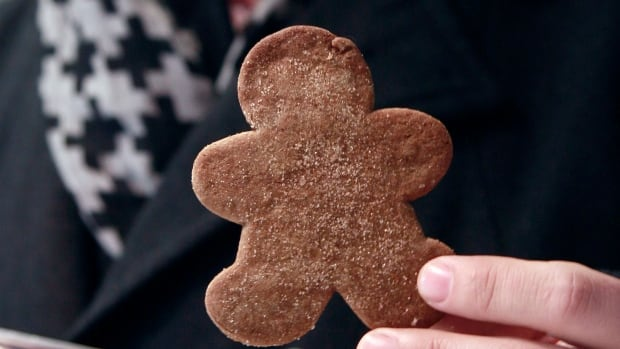 Drug-laced cookies, like this edible marijuana gingerbread man, can look just like regular cookies. Police in B.C.'s northeast say they are investigating the possibility that a child unintentionally brought drug-laced cookies to school and shared them with classmates.