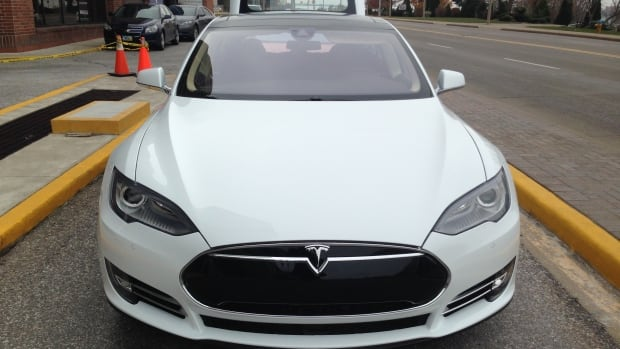 The larger-battery Model S starts at about $85,000 Cdn, but is faster to recharge. Tesla has opened a large dealership and service centre in Montreal.