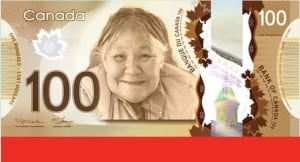 Kenojuak Ashevak on $100 bill