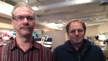 Gilbert Russell and Greg Best, Glebe BIA