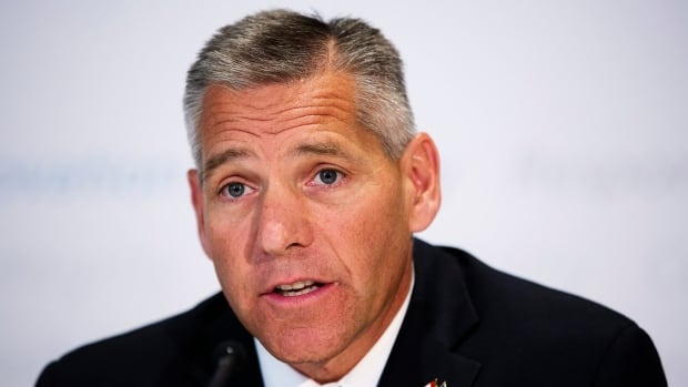 TransCanada Corp. — whose CEO is Russ Girling, above — says it had a $2.5-billion net loss in the fourth quarter. The Calgary-based company says it's mostly because of the Keystone XL pipeline proposal that has been blocked by U.S. President Barack Obama.