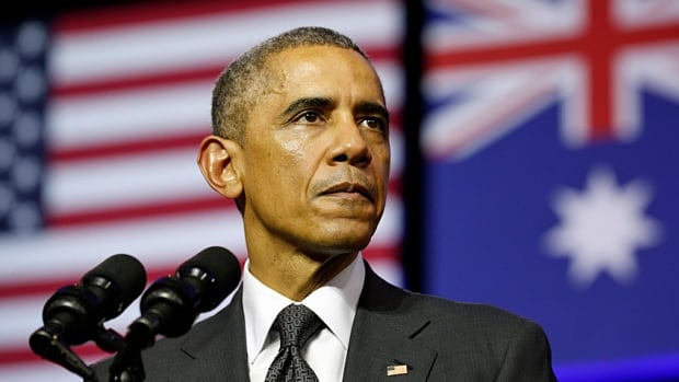 U.S. President Barack Obama speaks at the University of Queensland in Brisbane on Nov. 15, 2014, in advance of the G20 Summit. Is hope gone, or just replaced by governing?