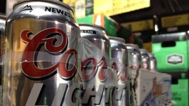 Molson Coors says beer sales are down in provinces that happen to produce oil.