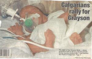 Baby Grayson 2
