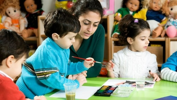 Parents with children in publicly funded daycares in Quebec will now have to pay according to their annual income, instead of a flat $7.30 per day per child.