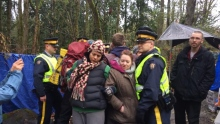 Kinder Morgan pipeline protest