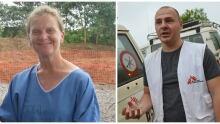 Ebola doctors, Tim Jagatic and Laura Lee Morris in Africa