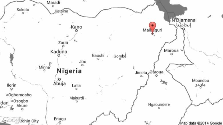 Nigeria attacks target 2 state capitals cbc news maiduguri is the capital of borno which has been hit the hardest by boko harams five year insurgency google gumiabroncs Images