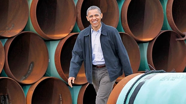 'The way that you get oil out in Canada is an extraordinarily dirty way of extracting oil,' Obama said during a town-hall session at a South Carolina college.