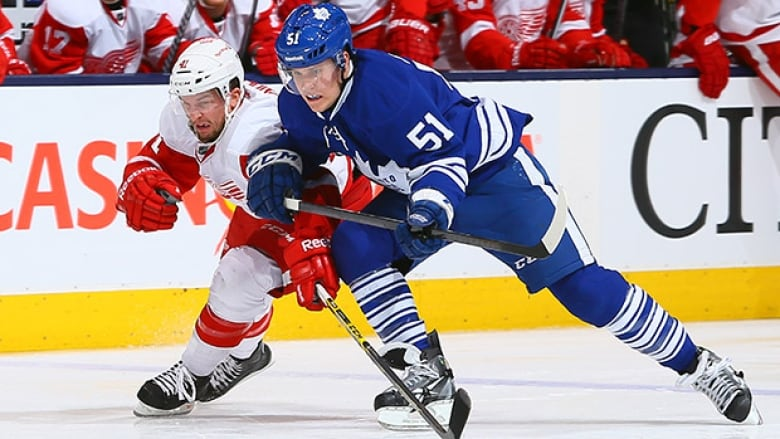 Hockey Night In Canada Red Wings Vs Maple Leafs Cbc Sports