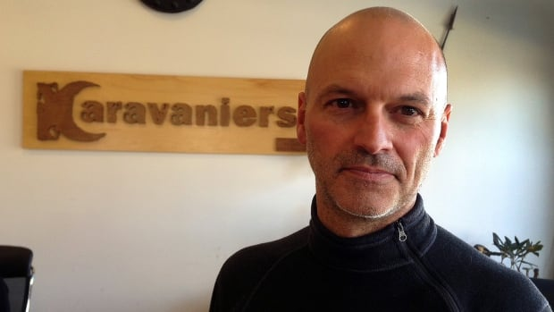 Richard Rémy, tour operator for Karavaniers was caught in October's deadly avalanche in Nepal. He says his insurance company won't pay for a helicopter airlift because no one in his group was injured.