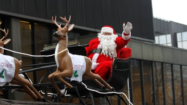 A jolly visitor comes to Hamilton this weekend for the city's annual Santa Claus parade.