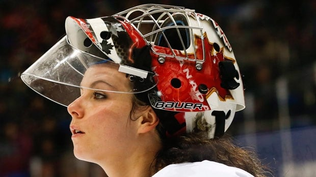 Goaltender Shannon Szabados made 33 saves for the Columbus Cottonmouths Saturday evening, making her the 1st female goaltender to register a shutout in a men's professional hockey match.