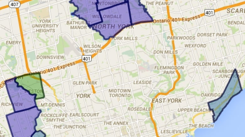 Power outages reported in multiple Toronto neighbourhoods