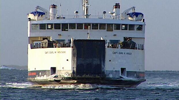 Earl W. Winsor ferry file photo Fogo Island Change Islands CBC