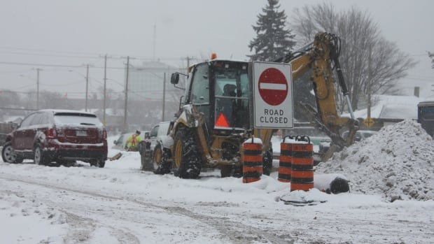 The same weather system that caused blowing snow and freezing temperatures in Waterloo Region also dumped more than 300 centimetres of snow on western New York.