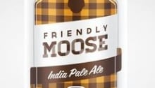 Friendly moose pale ale