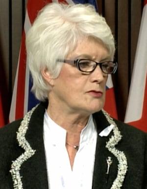 Education Minister Liz Sandals