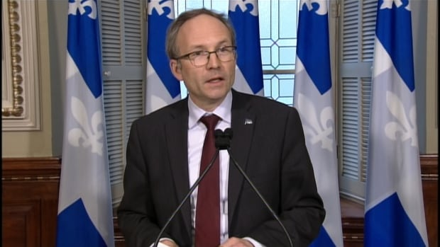 Quebec Treasury Board President Martin Coiteux says a 15-month hiring freeze in the public sector would save the province $689 million.