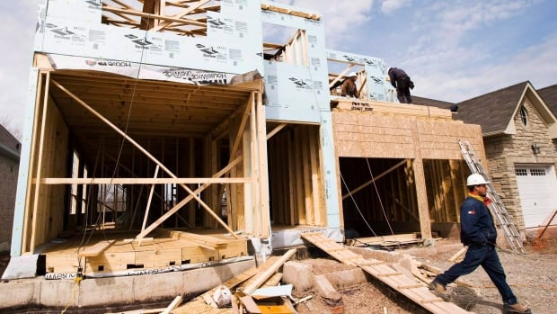 Housing construction was a major boost for Canada's economy in the first quarter of 2017