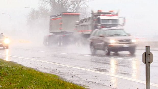 Police are warning pedestrians, drivers and cyclists to take extra care when visibility is poor.