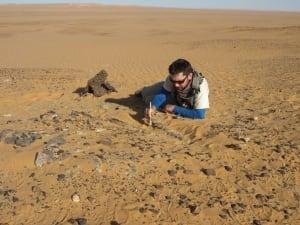 David Evans in Sudan