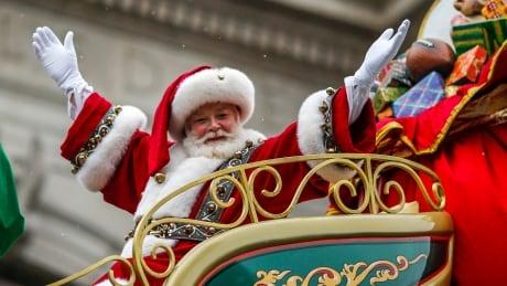 Santa at Macy's Thanksgiving Parade