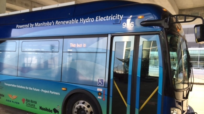Add up to 20 electric buses to Winnipeg Transit fleet
