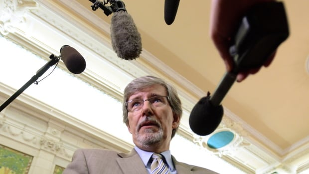 Privacy Commissioner Daniel Therrien took questions from MPs on the House ethics committee on Thursday afternoon.