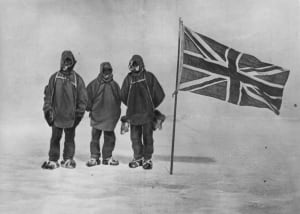 Shackleton near South Pole