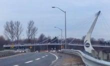 Airport Parkway pedestrian bridge opens