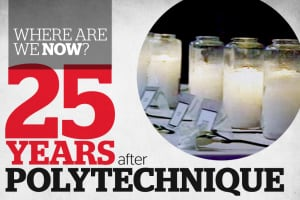 Polytechnique shooting anniversary 25 years