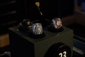 Jonathan Toews's Stanley Cup rings
