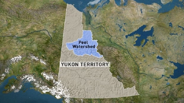 A map shows the expansive Peel River watershed.
