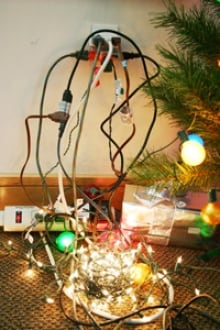 Six Tips To Avoid Overloaded Christmas Electrical Outlets